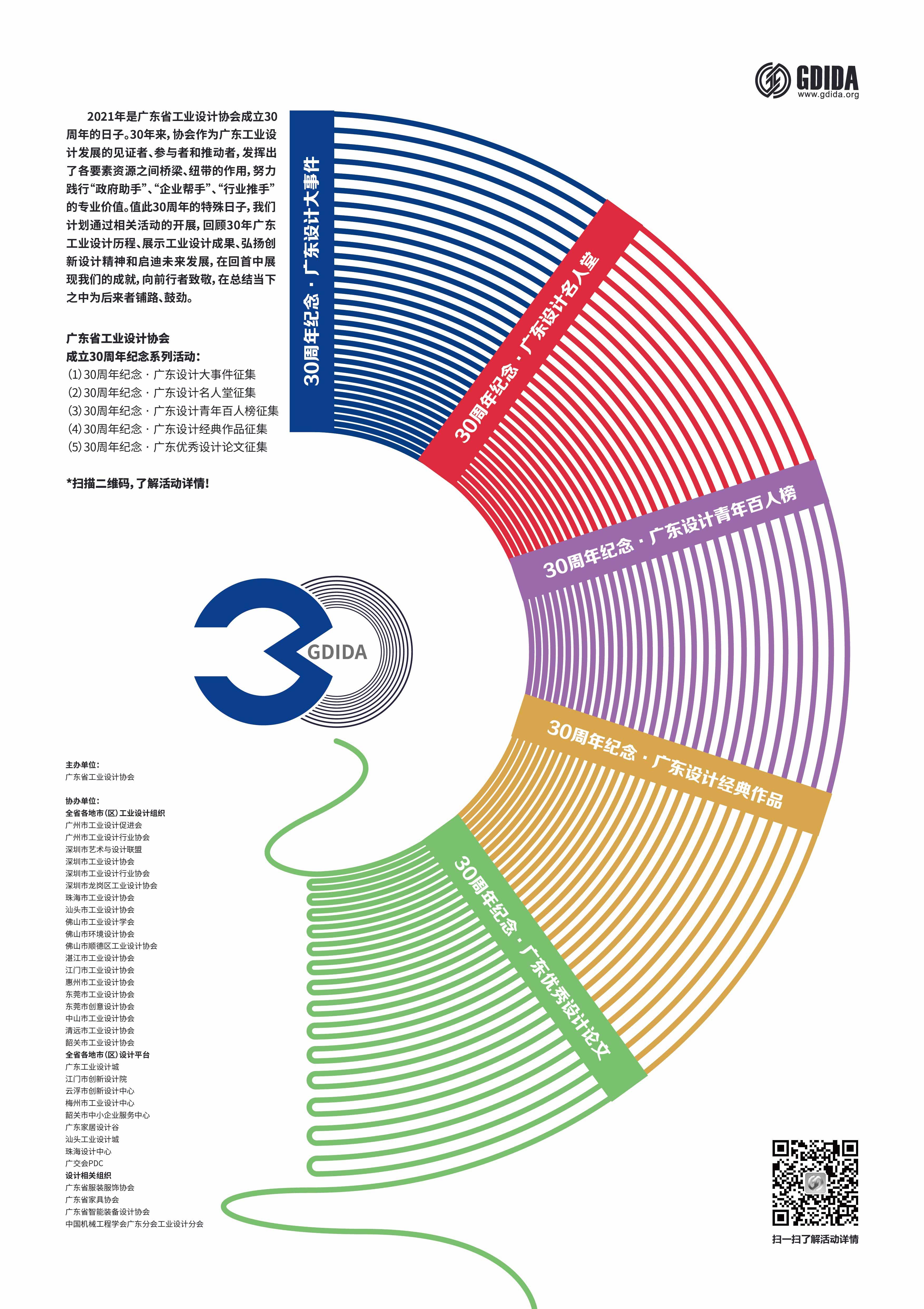 """谁在影响中国——""""广东设计30年""""征集活动等您来参与!"""